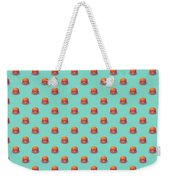 Burger Isometric - Plain Mint Weekender Tote Bag