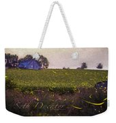 1300 - Fireflies Impression Version Weekender Tote Bag