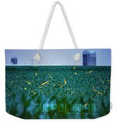 1306 - Fireflies - Lightning Bugs Over Corn Weekender Tote Bag