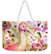 Scarlet Ibis Weekender Tote Bag