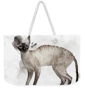 Cute Cornish Rex Youngster Weekender Tote Bag