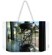 Image Included In Queen The Novel - Lantern In Window 19of74 Enhanced Poster Weekender Tote Bag