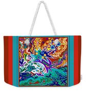 Life Ignition Option 2 With Borders Weekender Tote Bag