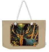 Elk Painting - Autumn Majesty Weekender Tote Bag