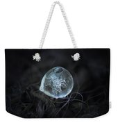Drop Of Ice Rain Weekender Tote Bag