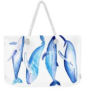 Whale Friends Weekender Tote Bag