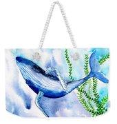 Whale 6 Weekender Tote Bag