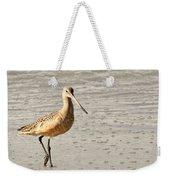 Sandpiper Strolling - Horizontal Weekender Tote Bag
