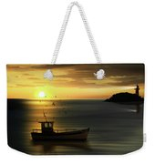 When The Sun Goes Down Weekender Tote Bag