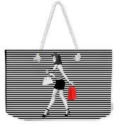 Stripes In Fashion Weekender Tote Bag