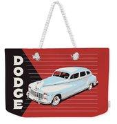 Dodge Showroom Poster Weekender Tote Bag