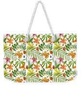 Tropical Flora Weekender Tote Bag