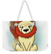 Lion Peaceful Reflection  Weekender Tote Bag