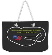The Daytona Road Course Weekender Tote Bag