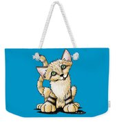 Sand Cat Weekender Tote Bag