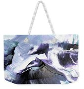 Glacier Mountains Weekender Tote Bag