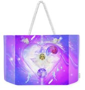 Heart Of The Violet Flame Weekender Tote Bag