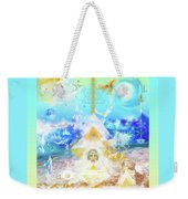 The Divine Masculine Weekender Tote Bag