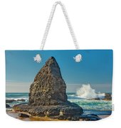 Rock Stack On The Costa Viicentina, Portugal Weekender Tote Bag