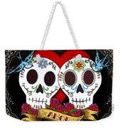 Love Skulls II Weekender Tote Bag