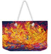 Fire And Passion - Here's To New Beginnings Weekender Tote Bag