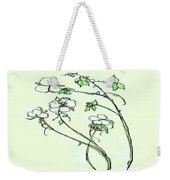 Charming Cotton Bolls Weekender Tote Bag