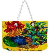 Plucky Rooster  Weekender Tote Bag