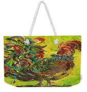 De Colores Rooster #2 Weekender Tote Bag