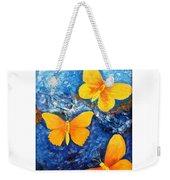 Butterfly In Blue 1 Weekender Tote Bag