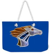 Glowing Bronco Weekender Tote Bag