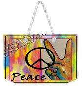 Peace In Every Color Weekender Tote Bag