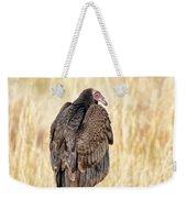 Portrait Of A Vulture Weekender Tote Bag