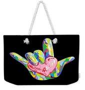 I Heart You Weekender Tote Bag