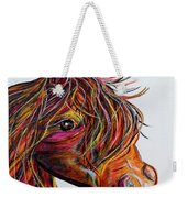 A Stick Horse Named Amber Weekender Tote Bag