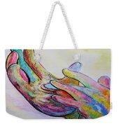 American Sign Language Jesus Weekender Tote Bag