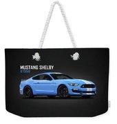 Mustang Shelby Gt350 Weekender Tote Bag