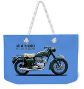 The Great Escape Motorcycle Weekender Tote Bag