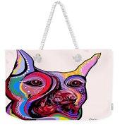 Doberman Weekender Tote Bag by Eloise Schneider