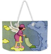 Heavenly Housekeeper Weekender Tote Bag by Sarah Batalka