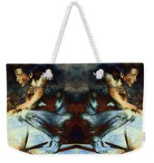 Resting With Texture Square Weekender Tote Bag