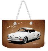 Vw Karmann Ghia Weekender Tote Bag