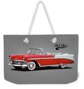 Chevrolet Bel Air 1956 Weekender Tote Bag
