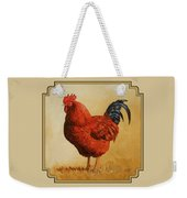 Rhode Island Red Rooster Weekender Tote Bag