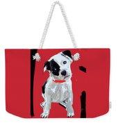 Dog Doggie Red Weekender Tote Bag