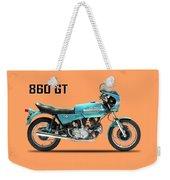 Ducati 860 Gt 1975 Weekender Tote Bag