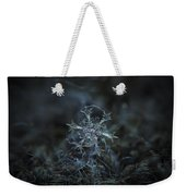 Snowflake Photo - Starlight Weekender Tote Bag