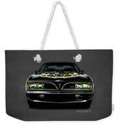 Pontiac Firebird Trans Am Weekender Tote Bag