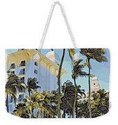 Aruba Palms Two Weekender Tote Bag