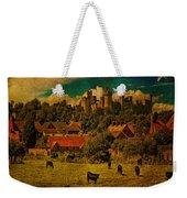 Arundel Castle With Cows Weekender Tote Bag