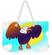 As High As An Eagle Weekender Tote Bag